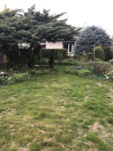 Garten mit Bungalow Lübschützer Teiche 2